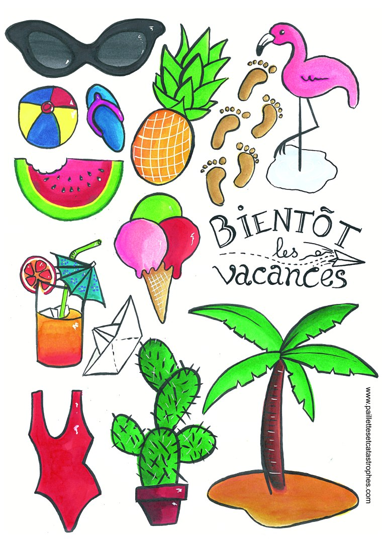 planche-illustrations-tropicales