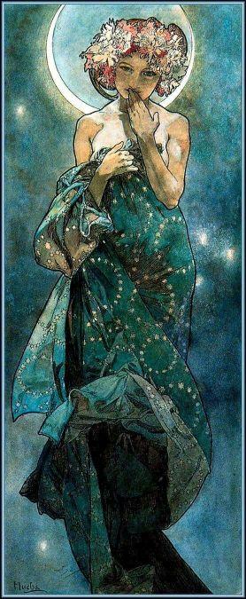 Clair de lune - Mucha (1902)