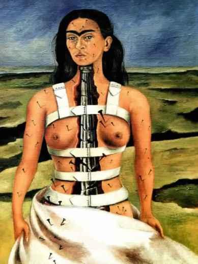 La colonne brisée - Frida Kahlo (1944)