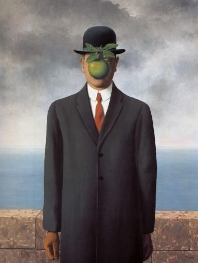 Le fils de l'homme - René Magritte (1964)