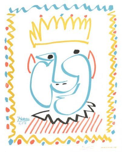 Tête de roi - Pablo Picasso (1951)